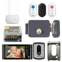 Kit Video Porteiro Residencial Completo IV 7010 HF Intelbras