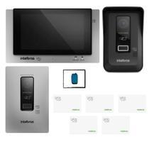 Kit Video porteiro Wi Fi Allo wT7 Intelbras Para Empresa Top -