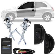 Kit Vidro Elétrico Celta 1999 A 2016 2 Portas Sensorizado Dianteiro Chevrolet VCT2A200 - Dial