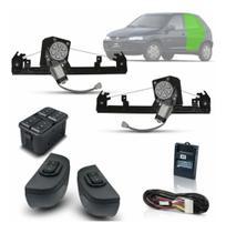 Kit Vidro Eletrico Celta Traseiro até 2011 Inteligente - Dial