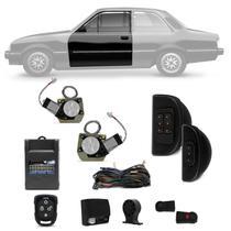 Kit Vidro Elétrico Chevette Chevy Marajó 1983 a 1993 Sensorizado Com Quebra Vento + Alarme Taramps - Kit Segurança