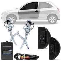 Kit Vidro Elétrico Chevrolet Celta 1999 A 2016 2 Portas Sensorizado Dianteiro VCT2A200 - Dial