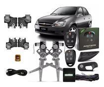 Kit Vidro Eletrico Corsa Classic 4 P Dianteiro Alarme  Trava - Autopac