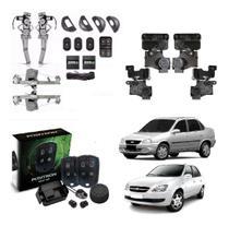 Kit Vidro Eletrico Corsa Classic 4p Alarme Positron Travas - Autopac