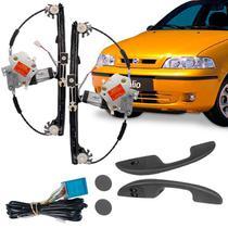 Kit Vidro Elétrico Dianteiro Sensorizado Fiat Palio Fire 4 Portas 2001 - Cb tec