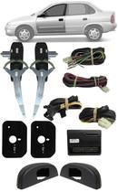 Kit Vidro Elétrico Gm Corsa Classic Sedan Hatch 4 Portas Dianteiro Sensorizado Positron - Pósitron