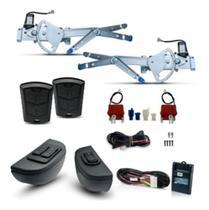 Kit Vidro Eletrico + Trava + Alarme Celta 2 Portas ( 2006 - 2011) Inteligente - Dial