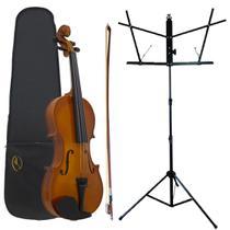 Kit Viola Clássica AL-1310 3/4 + Estante Para Partitura S1 - Alan
