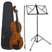 Kit Viola Clássica AL-1310 3/4 + Estante Para Partitura S2 - Alan