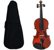 Kit Violino Barato 1/2 Completo Com Case E Arco Concert Cv -