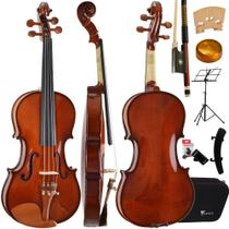Kit Violino Tradicional 4/4 VE441 Eagle Completo