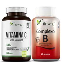 Kit Vitamina C e Complexo B Fitoway -
