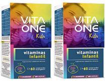 Kit Vitaone kids 60 cápsulas criança sabor 2 caixas em oferta - Sampafarstore