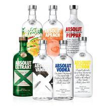 Kit Vodka Absolut Collection - Drinksco