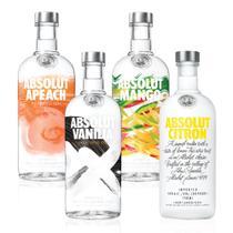 Kit Vodka Absolut Flavors Completo - Drinksco