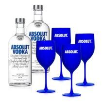 Kit Vodka Absolut Party IV - DrinksCo