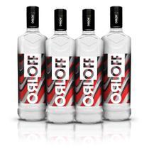 Kit Vodka Orloff 1L - 4 Unidades -