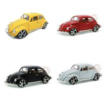 Kit Volkswagen Fusca 1967 escala 1:18 Die Cast