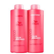 Kit Wella Invigo Color Brilliance Tratamento Profissional