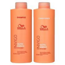 Kit Wella Invigo Nutri-Enrich Shampoo e Condicionador 1 Litro -
