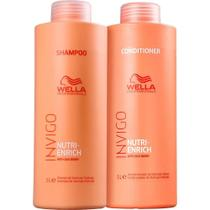 Kit Wella Invigo Nutri Enrich Shampoo E Condicionador 1litro -
