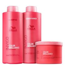 Kit Wella Professionals Invigo Color Brilliance (3 Produtos) -