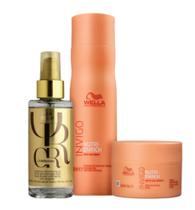 Kit Wella Professionals Invigo Nutri-Enrich + Oil Reflections -