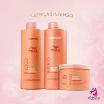 Kit Wella Professionals Invigo Nutri-Enrich Shampoo 1000ml + Condicionador 1000ml + MÁScara 500ml (3 -