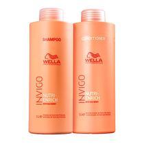 Kit Wella Professionals Invigo Nutri-Enrich Tamanho Salão (Shampoo e Condicionador) -