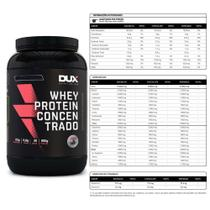 Kit Whey Concentrado Dux 900g Banana + Bcaa 60 Caps - K-fit