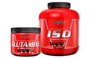 Kit Whey Isolado Triple Zero + Glutamina Integralmedica