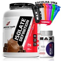 Kit Whey Isolate Definition + Bcaa 1,2 Max Titanium Body Act - Body action