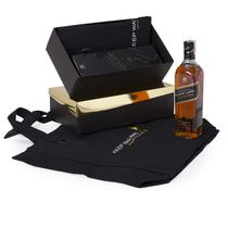 Kit Whisky Escocês Johnnie Walker Black Label 750ml+ EcoBag - Shop quality