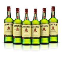 Kit Whisky Jameson 1L - 6 Unidades -
