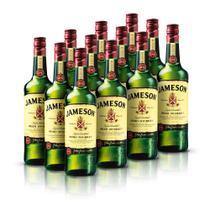 Kit Whisky Jameson 750ml - 12 Unidades -