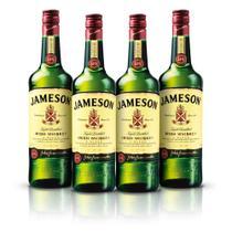 Kit Whisky Jameson 750ml - 4 Unidades -