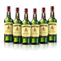 Kit Whisky Jameson 750ml - 6 Unidades -