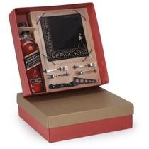 Kit Whisky Johnnie Walker Black Label litro + Kit Queijo 6 peças - Shop quality