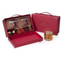 Kit Whisky Johnnie Walker Red Label 500ml + 2 copos e maleta - Shop quality