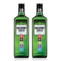 Kit Whisky Passport Scotch 1L - 2 Unidades -