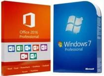 Kit Windows 7 Pro e Office 2016 Pro Plus ESD Mídia Digital - Azure