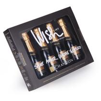 Kit Wish List com 4 Chandon Reserve brut 187ml + caneta e rótulos - Shop quality