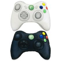 Kit X-Pillow Box 360: Almofada Gamer Inspiradas no Controle de Video Game Xbox 360 PB - Camaleão preto