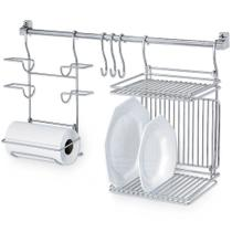 Kitchen Set 03 Suporte Rolos Escorredor Pratos Passerini -