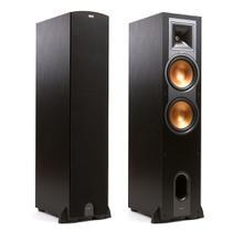 """Klipsch Reference R-28F - Par de caixas acústicas Torre Dual Woofer 8"""" 600W -"""