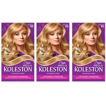 Koleston Tinta 80 Louro Claro (Kit C/03) -