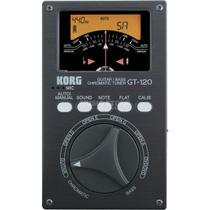 Korg - Afinador Cromatico Para Guitarra e Baixo GT120 -