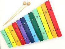 KT Paganini 2 Xilofone Infantil 12 Notas Colorido 31x21 Cm Pxl812 -