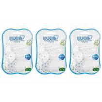 Kuka Massageador Escova Dental C/ Protetor  (Kit C/03) -