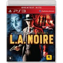L.a. Noire Greatest Hits - PS3 - Rockstar Games